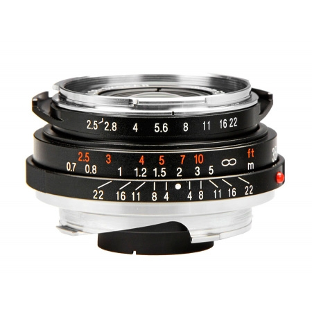 Voigtlander Color Skopar 35mm f2.5 P II VM-mount - RS7807598