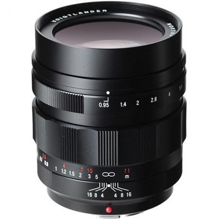 Voigtlander Nokton 42.5mm/f0.95 - micro 4/3  negru
