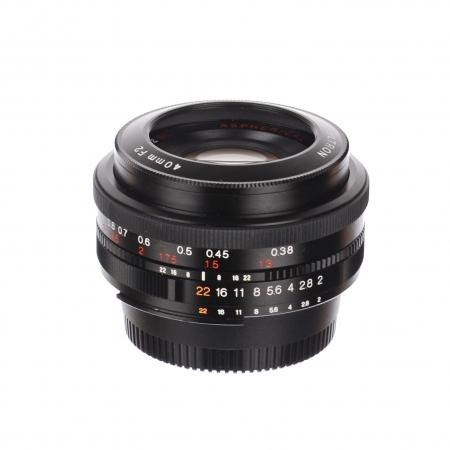 Voigtlander Ultron 40mm f/2 SL II (Nikon AI-S) SH125030765