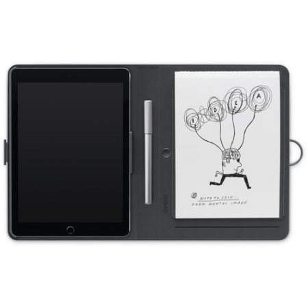 Wacom Bamboo Spark Snap-fit - Husa smart pentru iPad Air 2