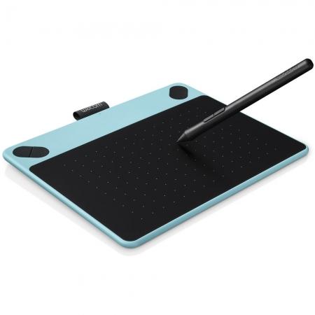 Wacom Intuos Comic CTH-490 Pen & Touch S - tableta grafica - albastru