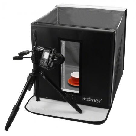 Walimex Ready-To-Go Light Cube - Cub foto 540W, 60x60cm