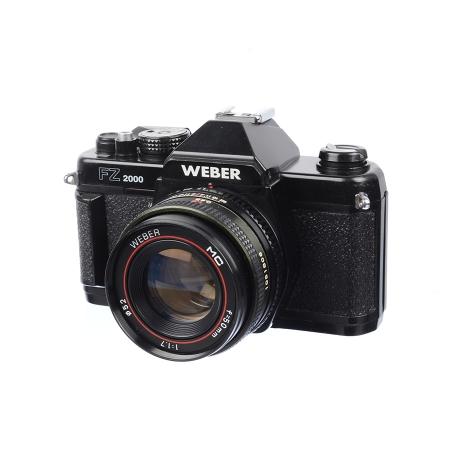 Weber FZ2000 + Weber MC 50mm f/1.7 - Montura Contax/Yashica - SH7320-4