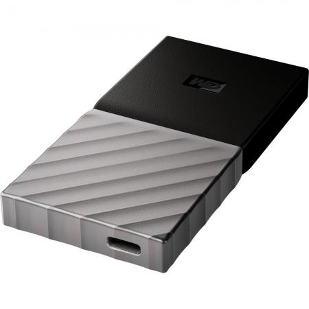 Western Digital My Passport SSD 256GB, USB 3.1, Argintiu