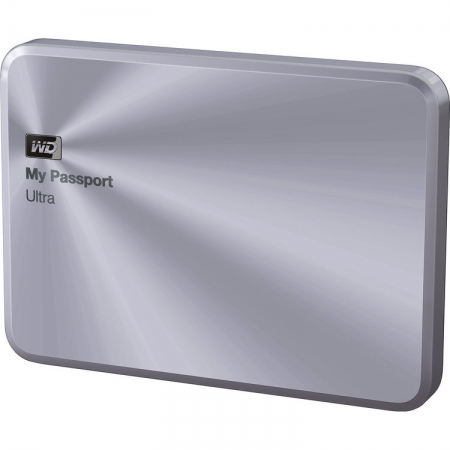 Western Digital My Passport Ultra Metal Edition - 4TB, USB 3.0, Argintiu