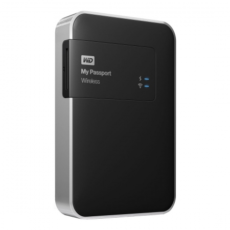 Western Digital My Passport Wireless 1TB - HDD extern cu Wi-Fi, slot SD si USB 3.0