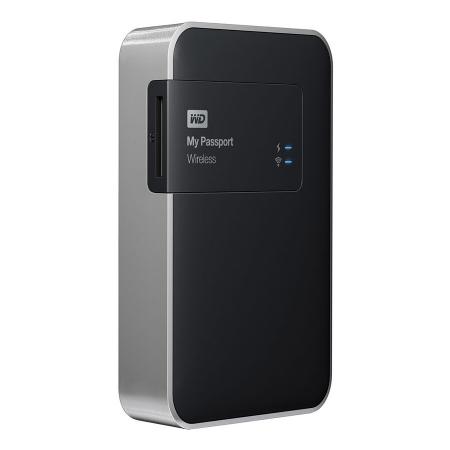 Western Digital My Passport Wireless 2TB - HDD extern cu Wi-Fi, slot SD si USB 3.0