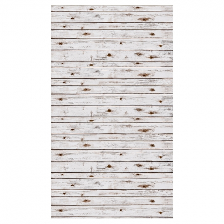 White Washed Wood Photo Backdrop P2507 1.22 x 3.65m - RS125009938