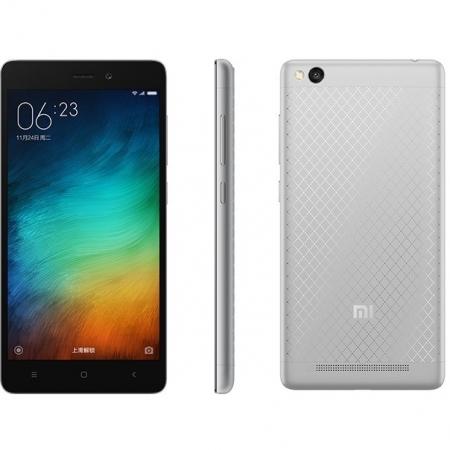 XIAOMI Redmi 3 Qualcomm Dual Sim 16GB LTE 4G Negru Argintiu RS125026071-2
