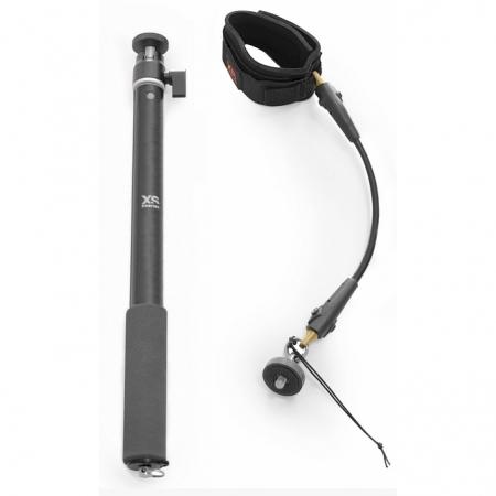 XSories Kit Big U-Shot + Cord Cam Wrist, Dark Grey