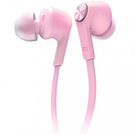 Xiaomi Colorful Edition - Casti audio cu Microfon, Roz