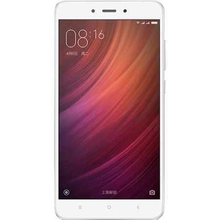 Xiaomi Redmi Note 4 - 5.5'', Dual Sim, Deca-Core, 64GB, 3 GB RAM, LTE 4G  - Alb/Argintiu