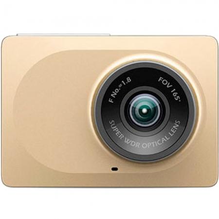 Xiaomi Yi DVR CN - Camera video pentru masina, Wi-Fi, Auriu