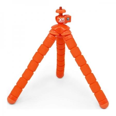 Xsories Bendy - Minitrepied flexibil, portocaliu