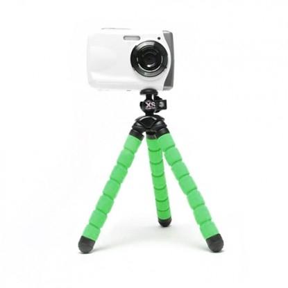 Xsories Bendy - minitrepied flexibl - verde