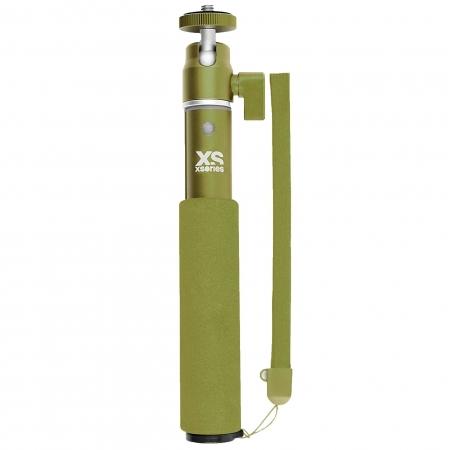 Xsories U-shot - Selfie stick extensibil, Forest Green