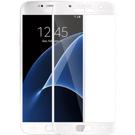 YUPPI LOVE TECH Folie protectie sticla securizata pentru Samsung Galaxy S7, Alb