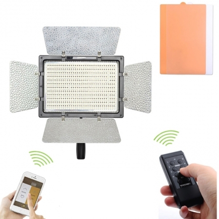 YongNuo YN900 (3200K-5500K) - lampa 900 leduri cu telecomanda si Wi-Fi