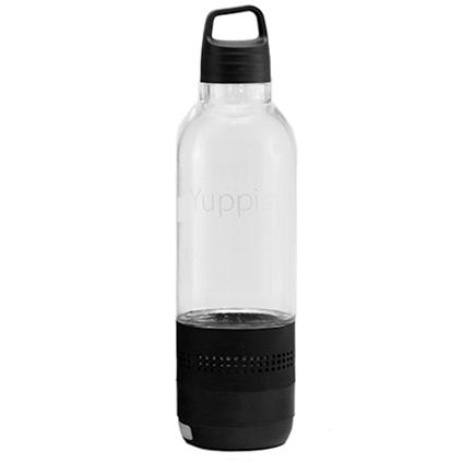 Yuppi Love Tech Sport 4 - Sticla Inteligenta cu Boxa Bluetooth Incorporata, Negru