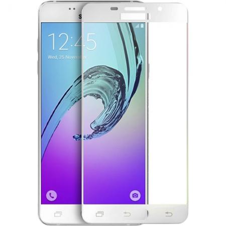 Yuppi Love Tech - Sticla securizata pentru Samsung Galaxy A7 (2016), Full Body, 3D, Alb