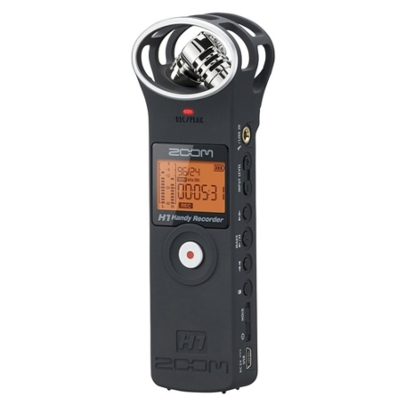 ZOOM H1 Matte Black Handy Recorder