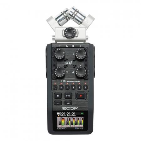 ZOOM H6 Handy Recorder - Dispozitiv de inregistrare audio portabil (XYH-6 si MSH-6 incluse)
