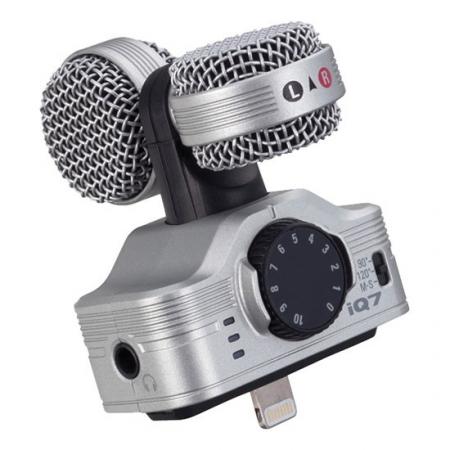 Zoom iQ7 - microfon stereo iPhone 5/5c/6 (Lightning)