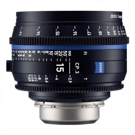 Zeiss CP.3 15mm T2.9 - Montura Canon EF