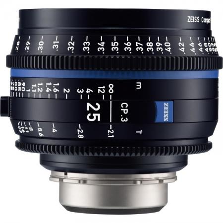 Zeiss CP.3 25mm T2.1 - montura Canon EF