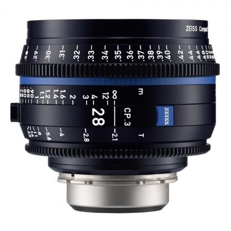 Zeiss CP.3 28mm T2.1 - Montura PL