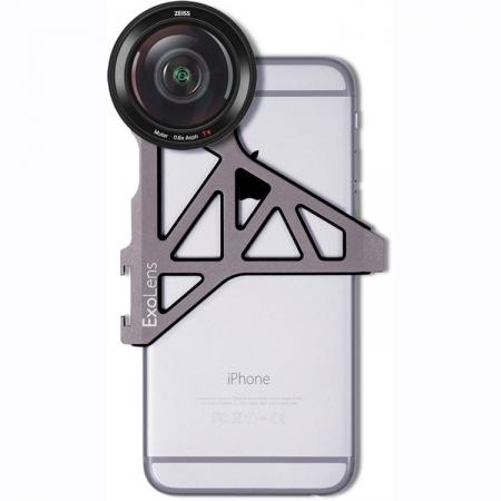 Zeiss ExoLens Kit obiectiv wide 0.6x + Bracket pentru iPhone 6/6s