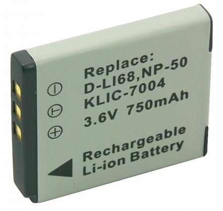 Acumulator Li-Ion tip NP-50 pentru aparate foto Fuji.(cod PL368B.533) 750mAh.