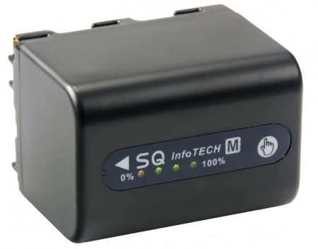 Acumulator Li-Ion tip Sony NP-QM70 , NP-QM71 , NP-QM71D.( cod PL713D.853) 3240mAh