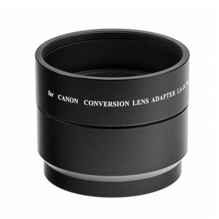 Adaptor replace Canon LA-DC58K cu parasolar pentru Canon G10 / G11 / G12