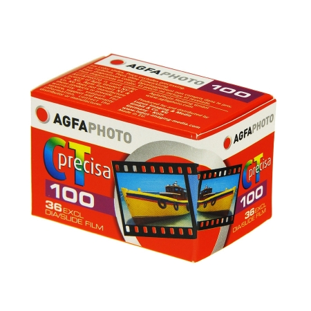 Agfa CT Precisa 100 - film diapozitiv color ingust (ISO 100, 135-36)