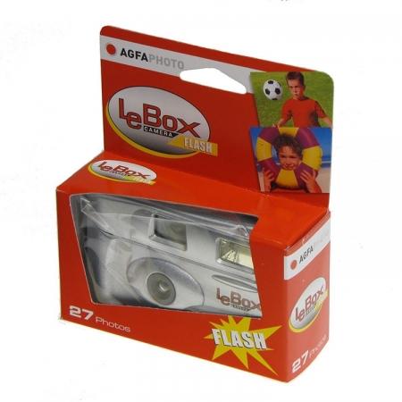 AGFA LeBox Flash 400 27 - aparat foto de unica folosinta cu blit