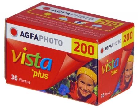 Agfa Vista 200 - film negativ color ingust (ISO 200, 135-36)