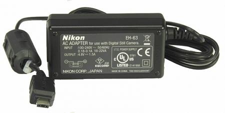 Alimentator Nikon EH-63 pentru Nikon  S1/S2/S3.