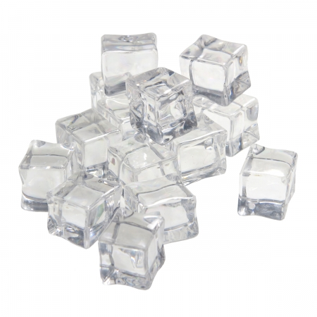 Artificial Ice Cubic - Cuburi gheata artificiala 2.5cm (16buc/set)
