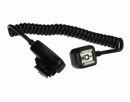Cablu TTL Micnova  MQ-E3 pentru blitzurile Canon