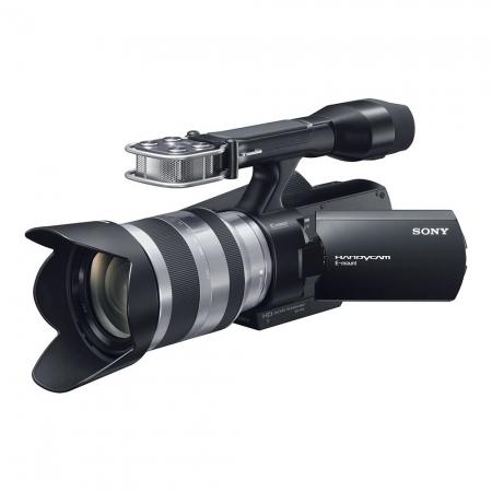 Camera video Full HD Sony NEX-VG10 + Obiectiv 18-200mm.NEXVG10EB.CEE