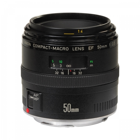 Canon EF 50mm f/2.5 Compact Macro (1:2)
