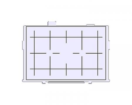 Canon EG-D - ecran de focalizare cu grid pentru Canon 5D Mark II / 6D