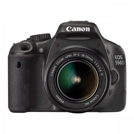 Canon EOS 550D kit 18-55mm IS - 18 MPx, LCD 3