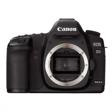 Canon EOS 5D Mark II body - CMOS Full Frame 21 MPx, LCD 3 inch, 3.9 fps, LiveView, filmare Full HD