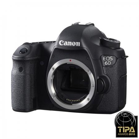Canon EOS 6D body - CMOS Full Frame 20 Mpx (fara Wi-Fi / GPS)