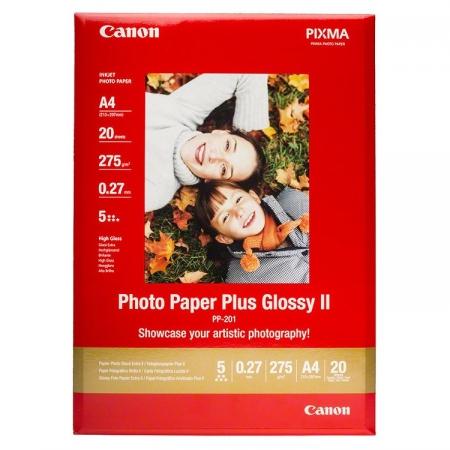 Canon Hartie Foto Plus Glossy II A4 - 20 coli (CANPP201A4)