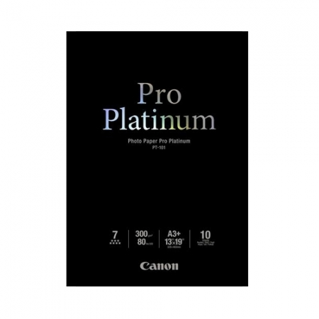 Canon Hartie foto Pro Platinum A3+ 10 coli 300gr (CANPT101A3+)