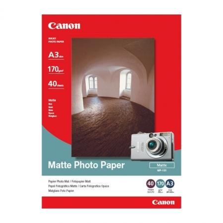 Canon Matte Photo Paper A3 40 coli 170g/mp (CANMP101A3)