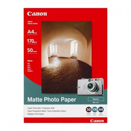 Canon Matte Photo Paper A4 50 coli 170g/mp (CANMP101A4)